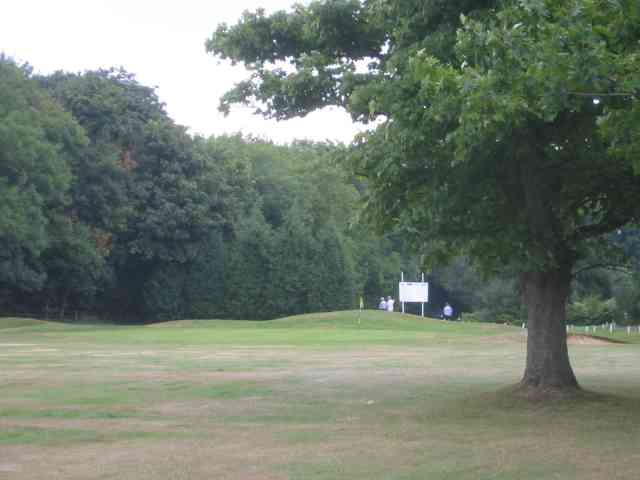 Golf links at Batchwood Hall