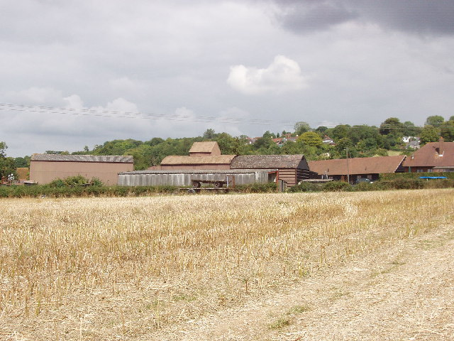 Farm buildings at Loosley Row