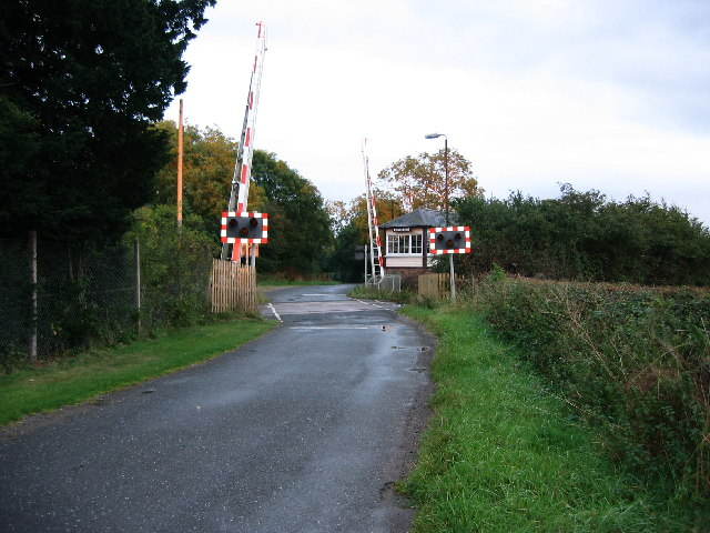 Whissendine Level Crossing