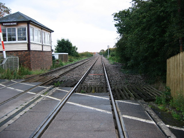 Birmingham to Stansted Railway line