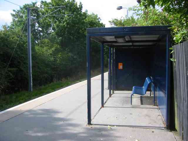Shelter at How Wood Station