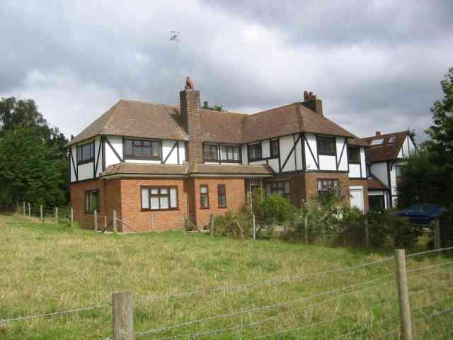 Last house in the road,  Private Estate, Radlett