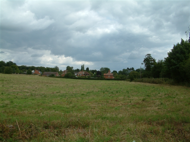 Looking East across the Fields