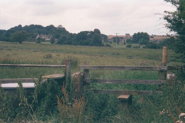 Stile near Windrush