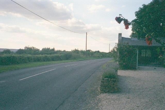 B4026 between Charlbury and Spelsbury