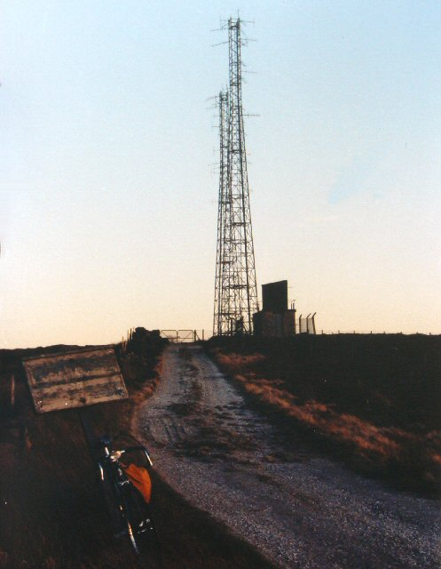 Transmission Masts near Whetstone Gate, Rombalds Moor