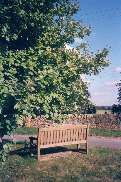 Queen's jubilee tree and bench, Dean