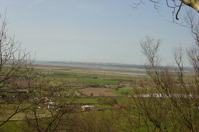 Mersey Estuary from Frodsham Hill