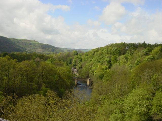 Dee Valley  from Pontcysyllte Aqueduct