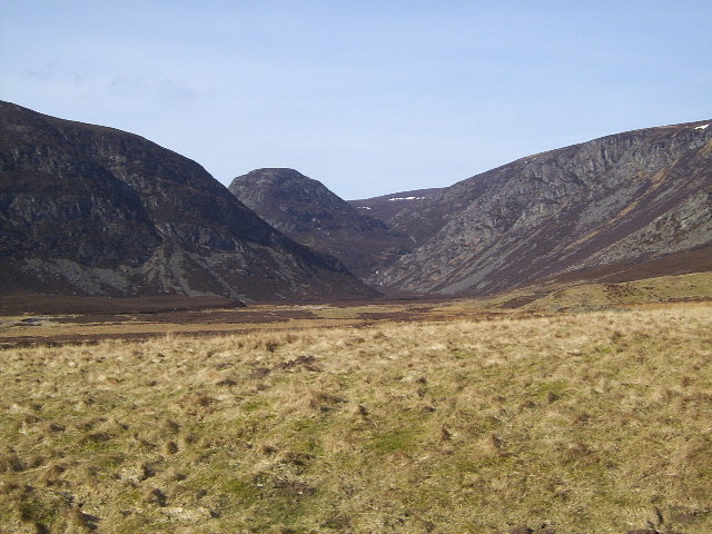 View up Glen Mark