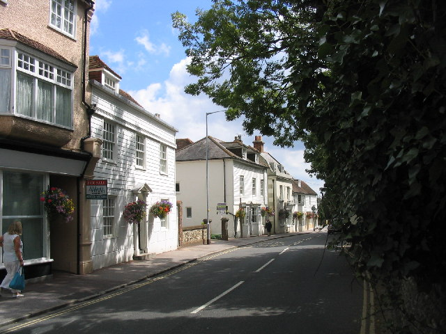 High Street, The Old Town, Bexhill, Sussex