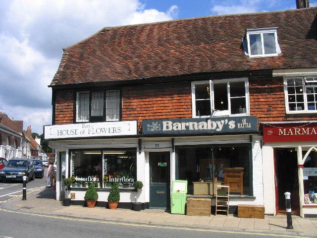 Shops, High Street/Mount Street, Battle, Sussex