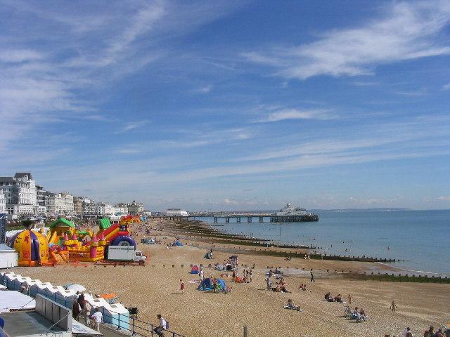 Grand Parade Beach, Eastbourne, Sussex