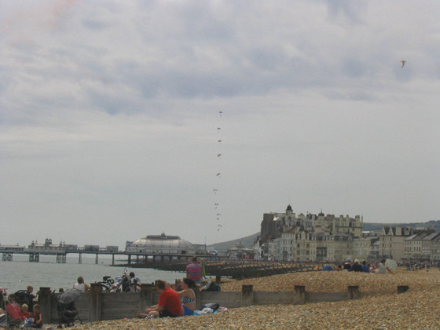 The Redoubt Beach, Eastbourne, Sussex