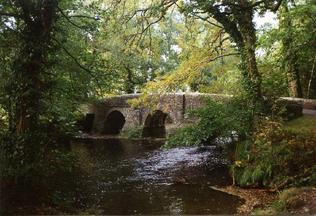 St Mellion: Clapper Bridge