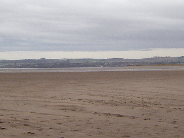 St Andrews from the end of West Sands