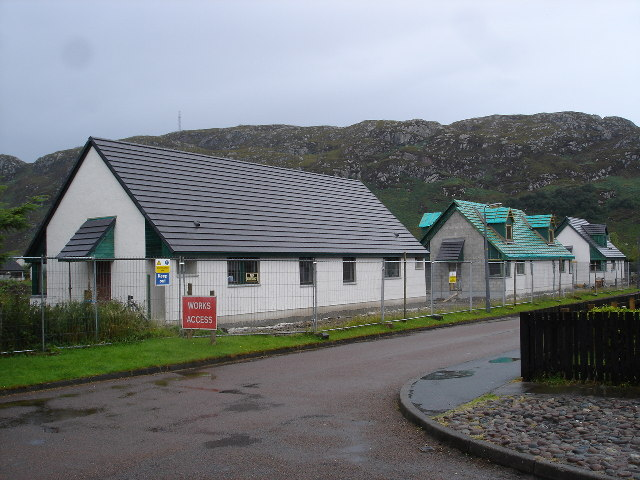 Community Housing Project in Poolewe