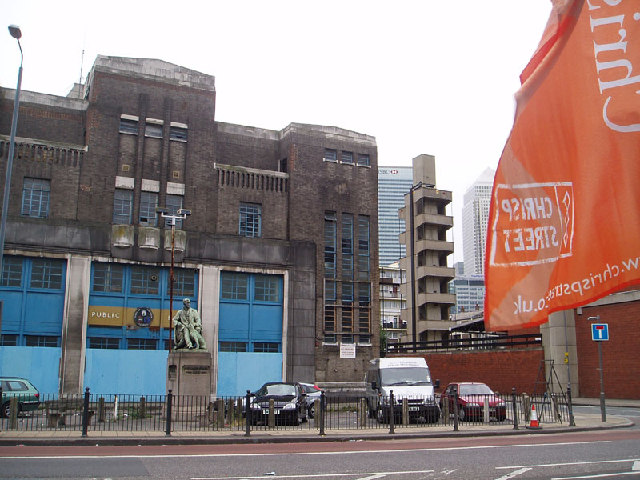 Public Baths, East India Dock Road