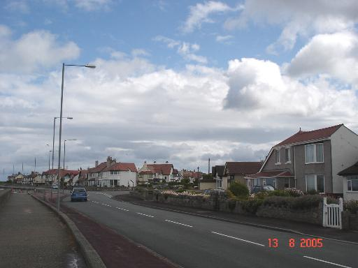 Rhos on Sea  coast Road