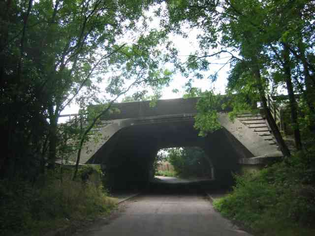Bridge over Beechtree Lane
