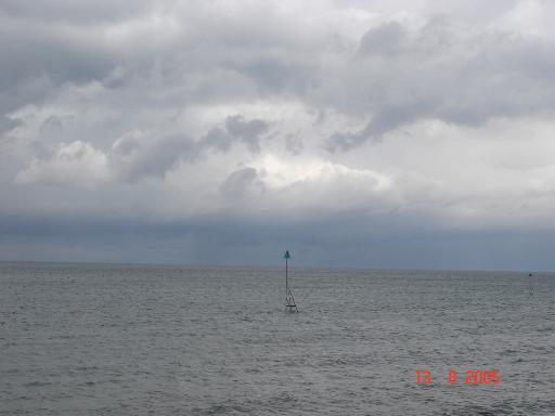 Sea off Colwyn Bay