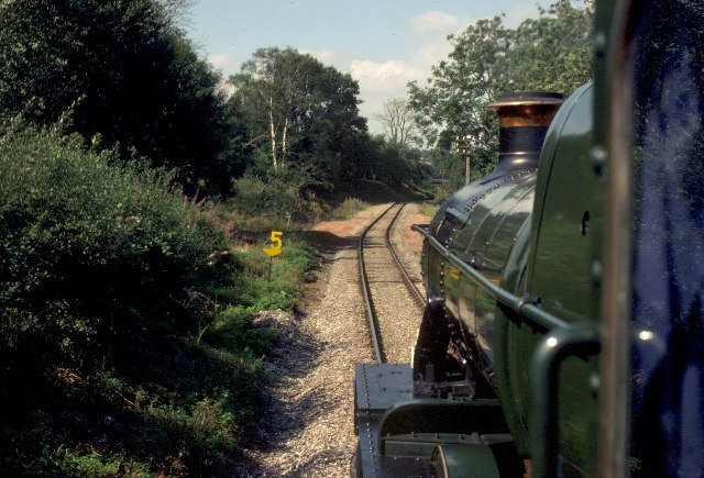 Sterns on the Severn Valley Railway