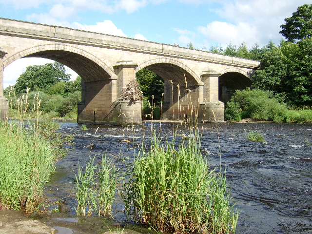 Bridge over the Tyne at Bywell