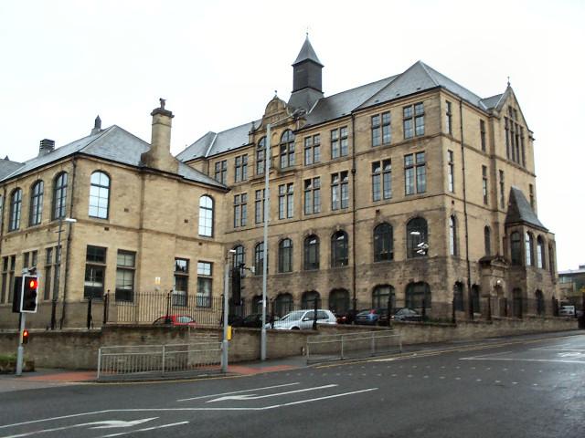 Former Hanson School, Barkerend Road