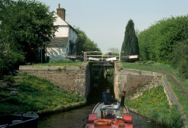 Deptmore Lock, Staffordshire and Worcestershire Canal