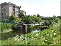 NS5269 : Blairdardie bascule bridge by william craig