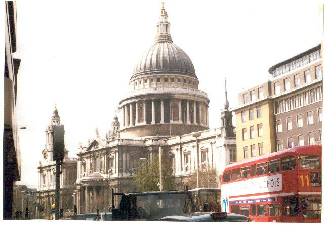 St. Paul's, London.