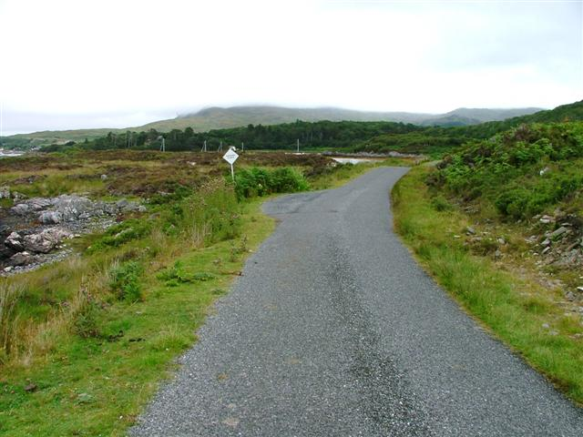 Passing Place on the Rhue Road
