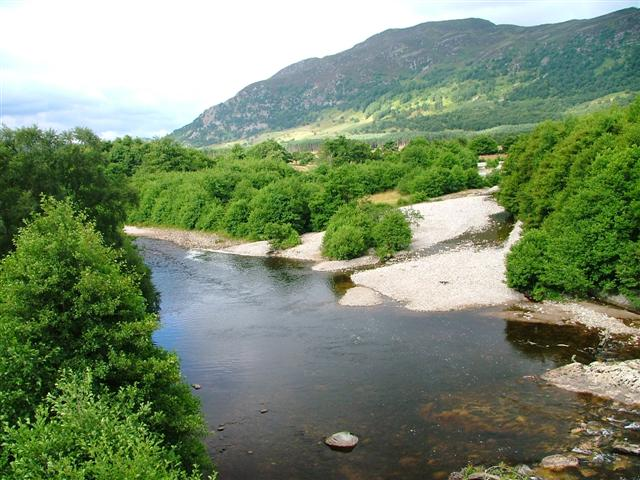 Confluence of the Rivers Spey and Calder