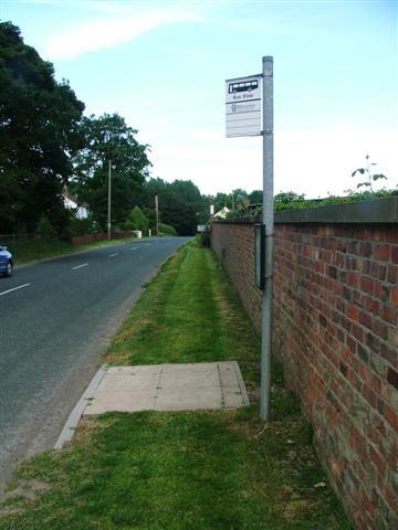 Bus Stop, near Rudby Hall
