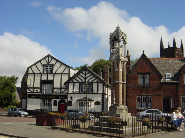 Village centre, West Derby