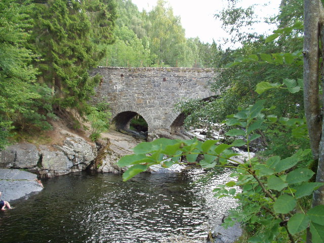 The bridge at Feshiebridge, near Aviemore