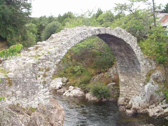 Old Pack Horse Bridge, Carrbridge