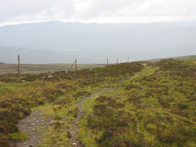 Track on Meall na Moine