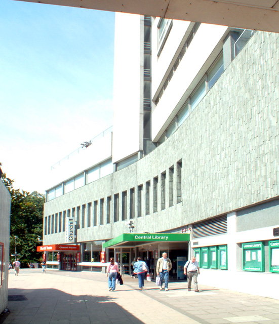 Bromley Central Library and Churchill Theatre