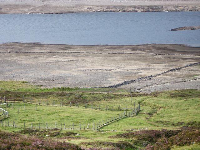 Flooded by Loch Errochty