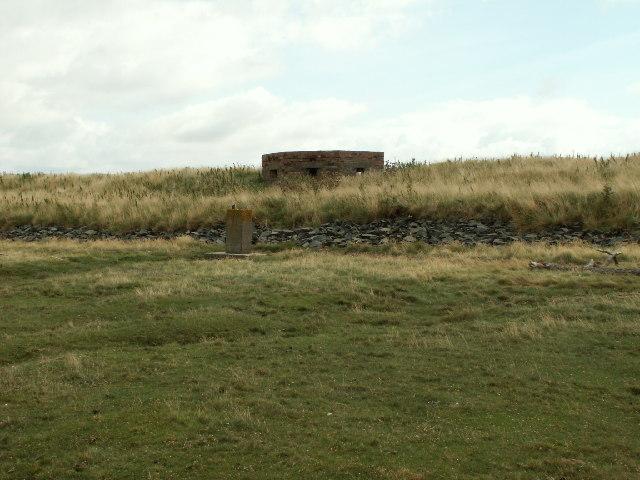 Pillbox, Dyfi Estuary