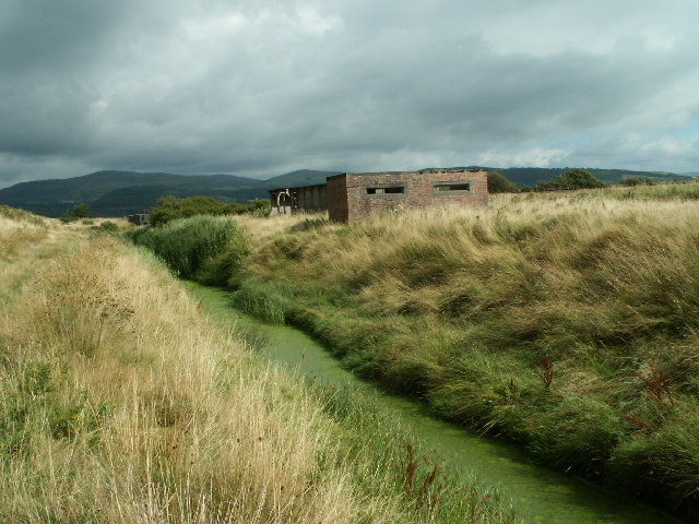Pillbox, Dyfi Embankment