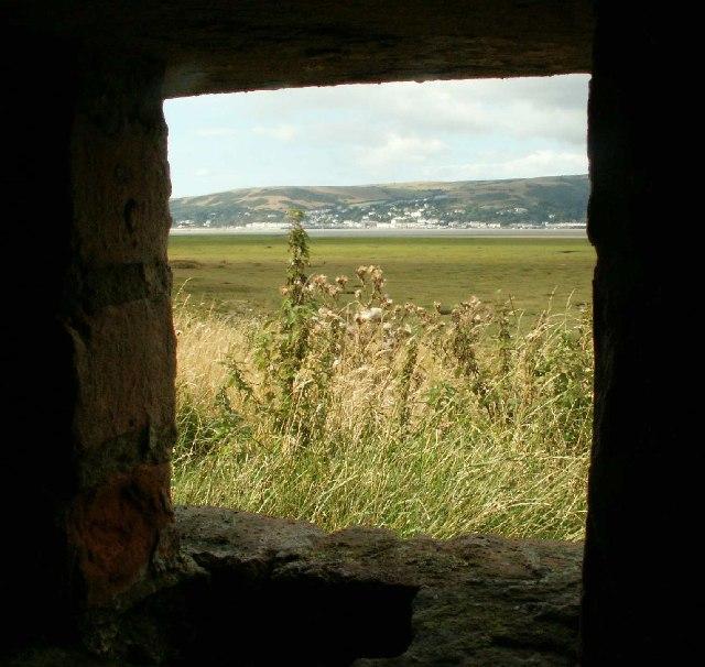 Aberdyfi, from WWII pillbox