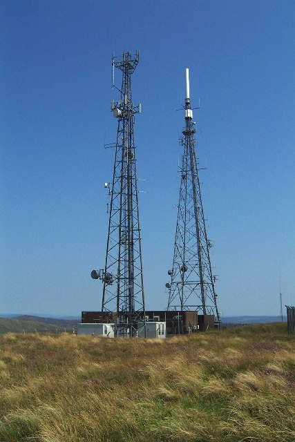 Cambret Hill TV-Masts