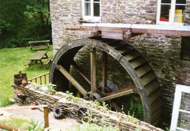 Tintagel: Trevillett Mill, Rocky Valley