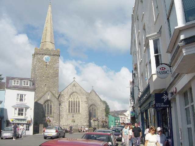 St Mary's Church Tenby
