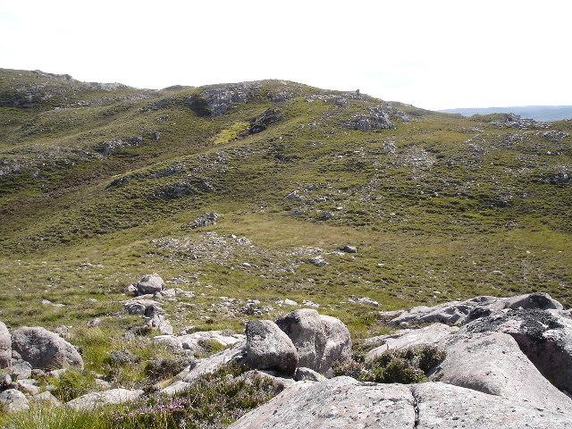View from Airigh Riahach