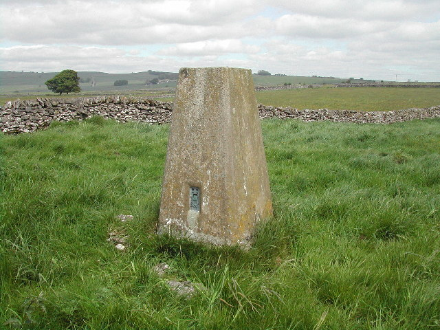 Trig Pillar at Highlow