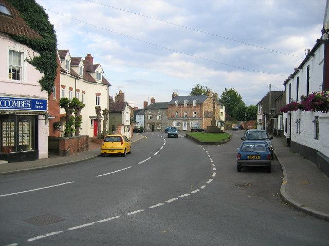 Kineton village centre
