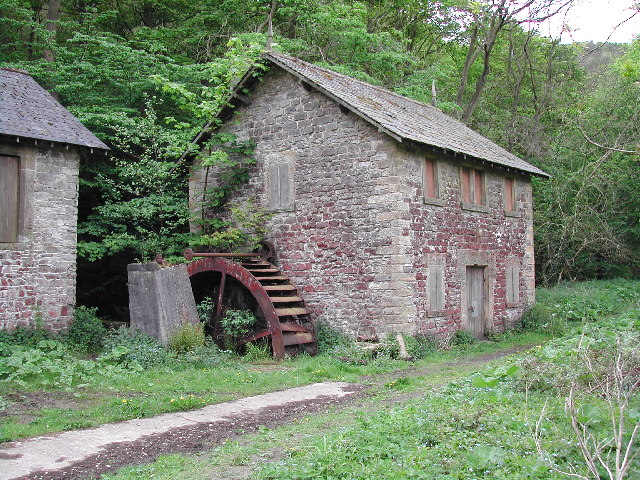 Disused Sawmill on the Wye